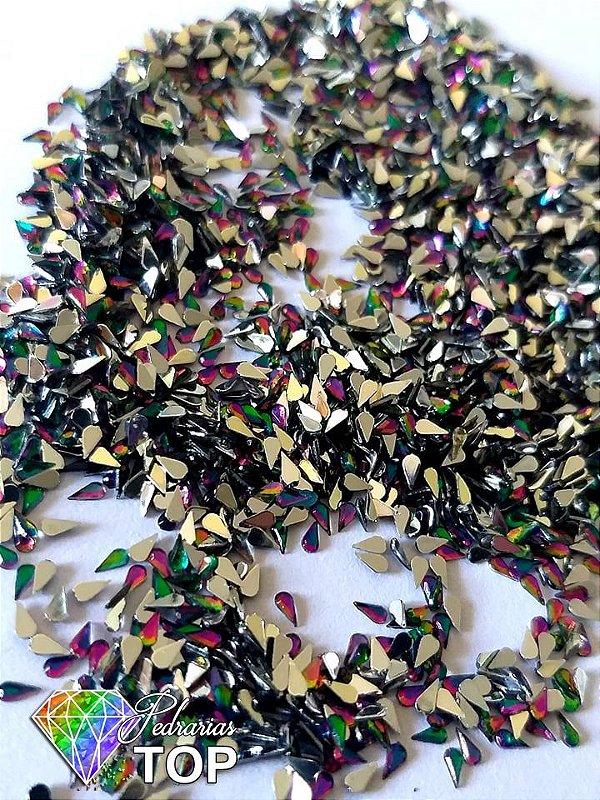 Gotinha multicolor 2mm - Aprox. 100 pcs