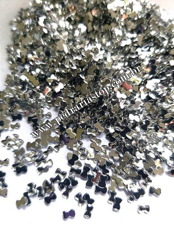 Lacinho para decoração de unhas cristal  - Aprox. 100 pcs