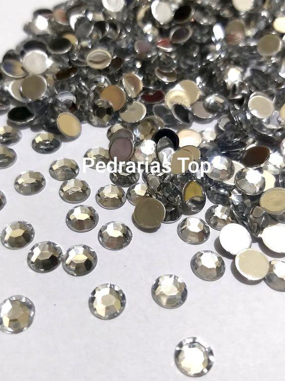 Chaton sextavado cristal 6mm - Aprox. 40 pcs