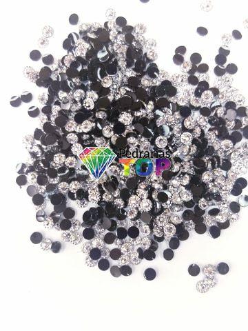Margarida prata 3mm - Aprox. 200 pçs