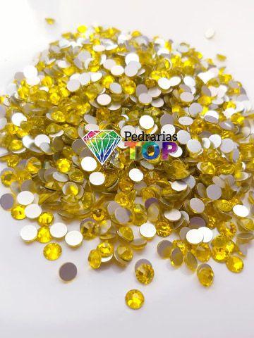 Cristal swarovski amarelo 5mm - 30 pçs
