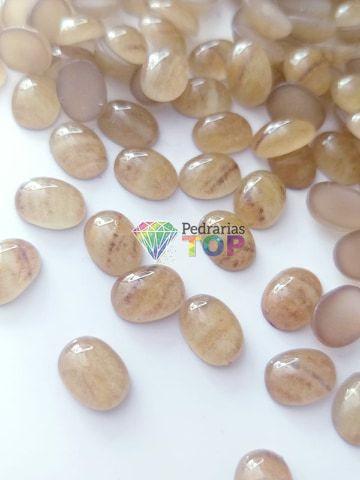 Pedra marmorizada ref. 001 - 10 pçs