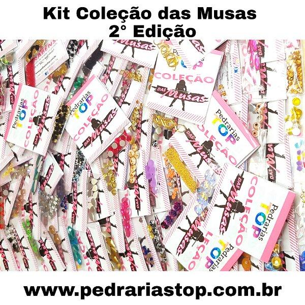Kit coleção das musas volume 2 - 100 saquinhos
