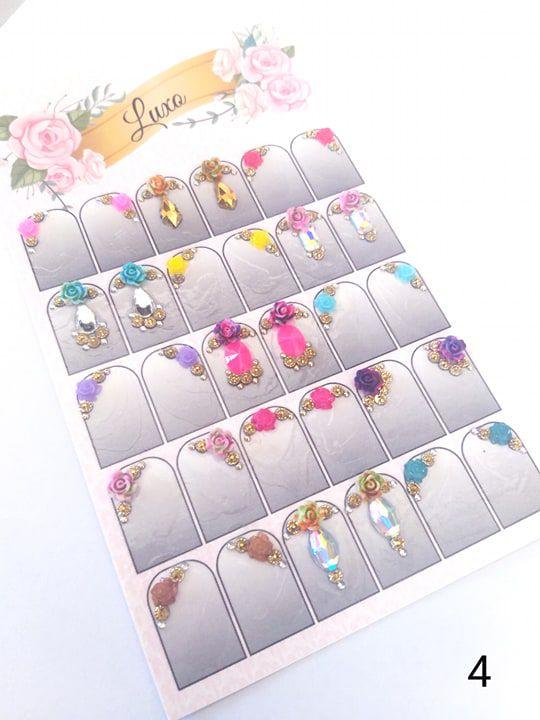 Cartelão de jóias prontas c/15 pares - Ref. 04