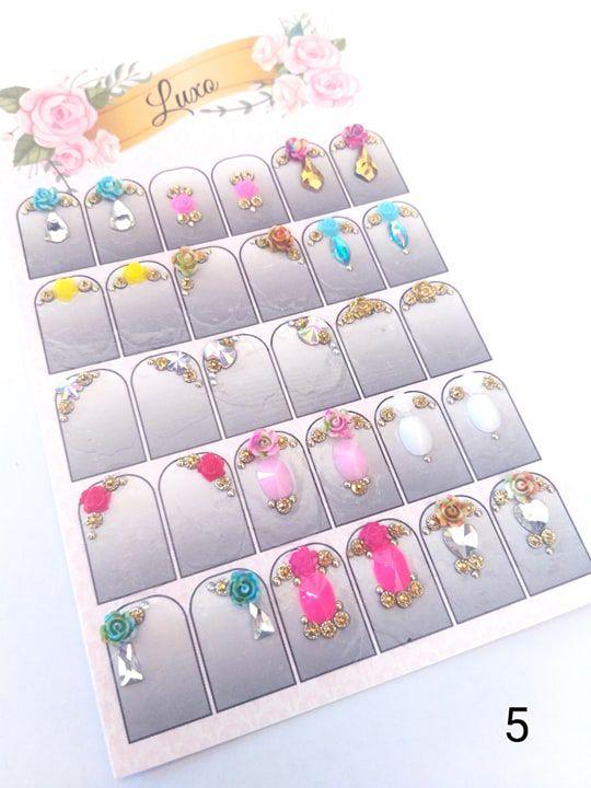 Cartelão de jóias prontas c/15 pares - Ref. 05