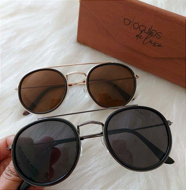 Óculos de sol feminino e masculino