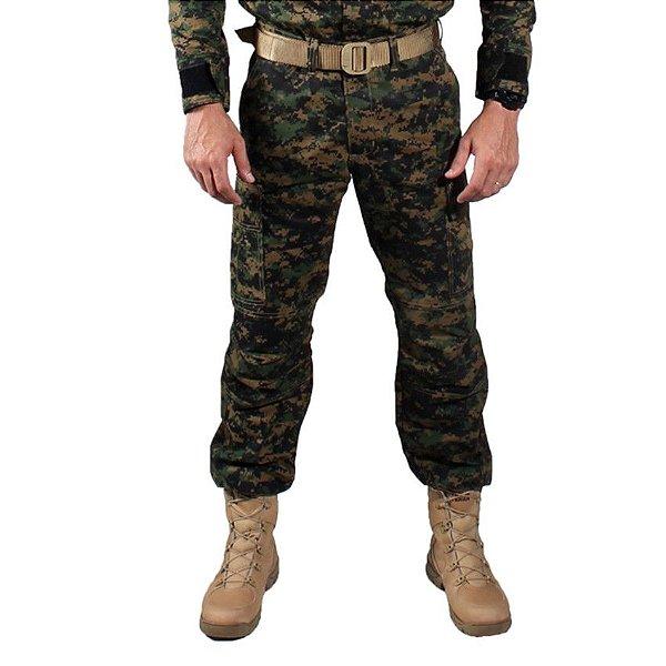 Calça Masculina Treme Terra Combat Camuflada Digital Serra Marpat