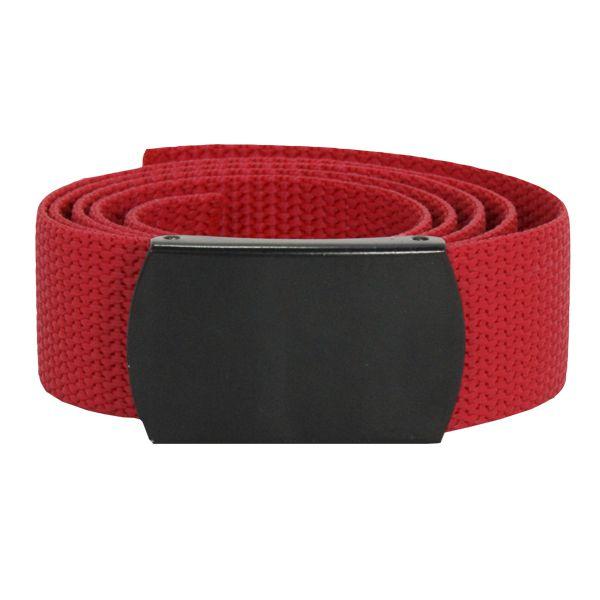 Cinto de Nylon Com Fivela - Vermelho