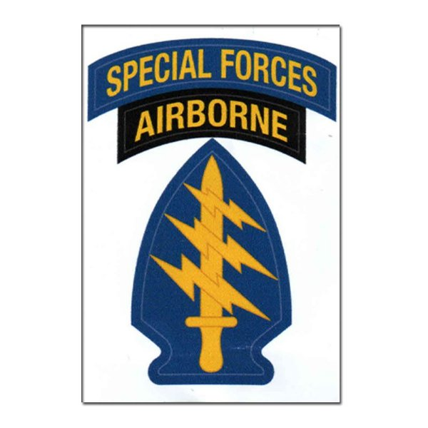Adesivo Airborner Special Forces