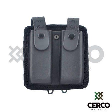 Porta Carregador Modular Duplo - Preto