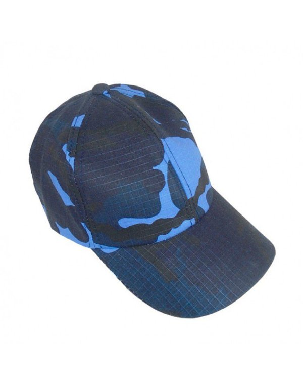 Boné Camuflado Woodland Azul
