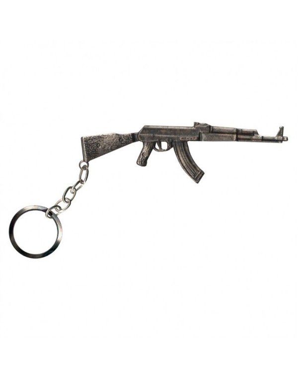 Chaveiro AK 47 - Cromado