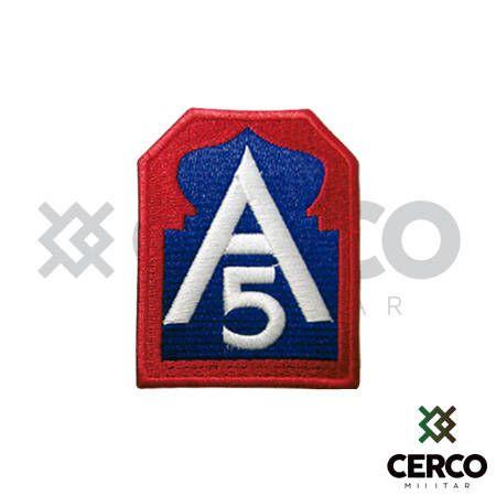 Bordado Termocolante A5 Exército Aliado