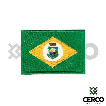 Bordado Termocolante Bandeira do Ceará