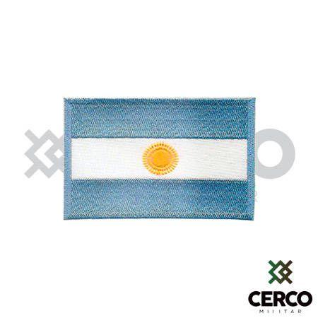 Bordado Termocolante Bandeira da Argentina