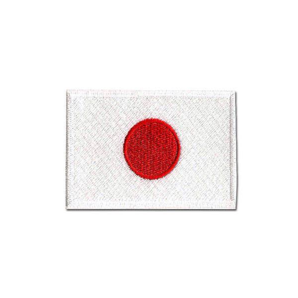 Bordado Termocolante Bandeira do Japão