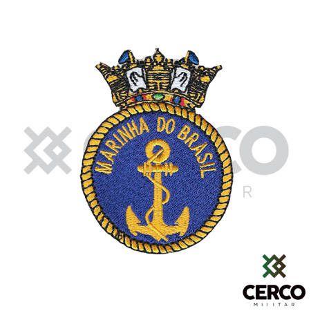 Bordado Termocolante Marinha do Brasil