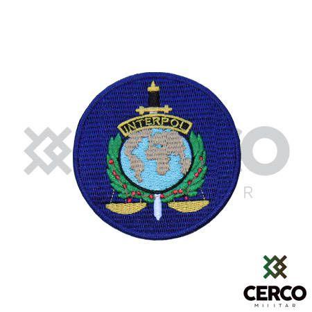 Bordado Termocolante Interpol
