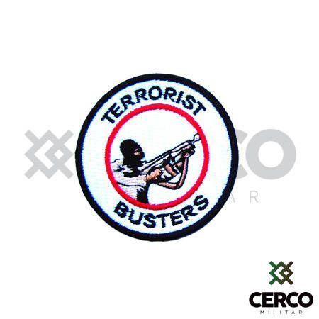 Bordado Termocolante Terrorist Busters