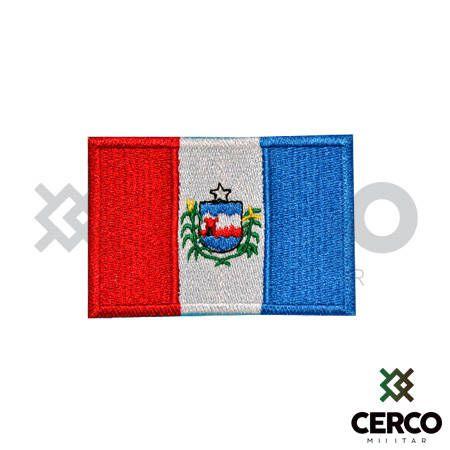 Bordado Termocolante Bandeira de Alagoas