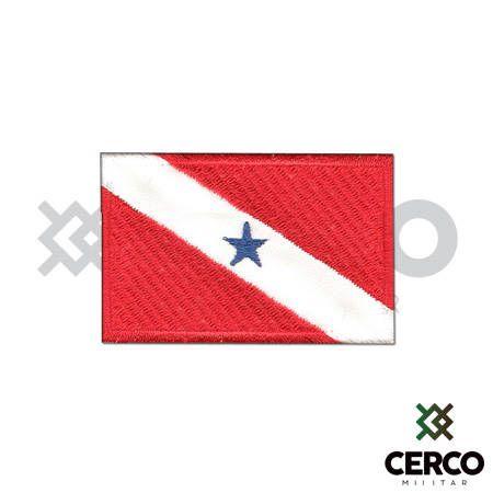 Bordado Termocolante Bandeira do Pará