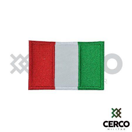 Bordado Termocolante Bandeira da Itália