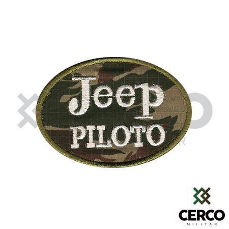 Bordado Termocolante Jeep Piloto