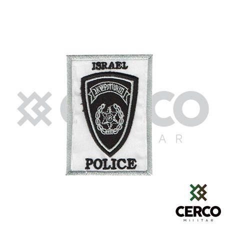 Bordado Termocolante Israel Police
