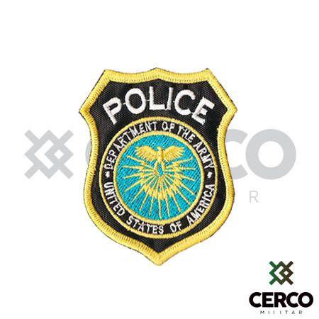 Bordado Termocolante POLICE