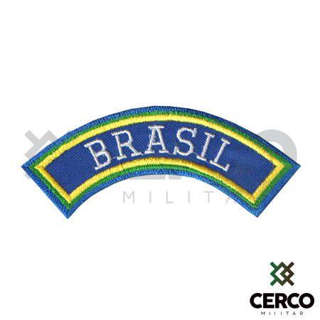 Bordado Termocolante Tarjeta Brasil