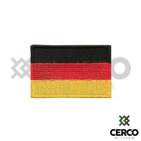 Bordado Termocolante Bandeira da Alemanha