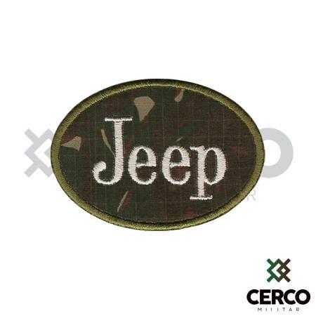 Bordado Termocolante Jeep Camuflado
