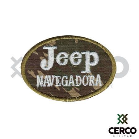 Bordado Termocolante Jeep Navegadora