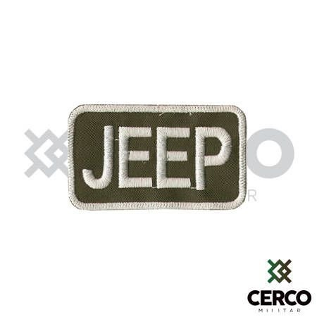 Bordado Termocolante Jeep - 1