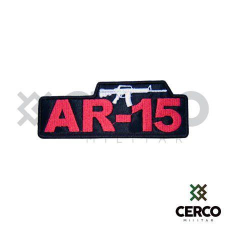 Bordado Termocolante AR-15