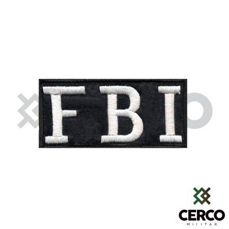 Bordado Termocolante FBI S.W.A.T. Team