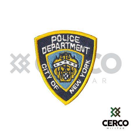 Bordado Termocolante Police Department