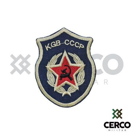 Bordado Termocolante KGB CCCP