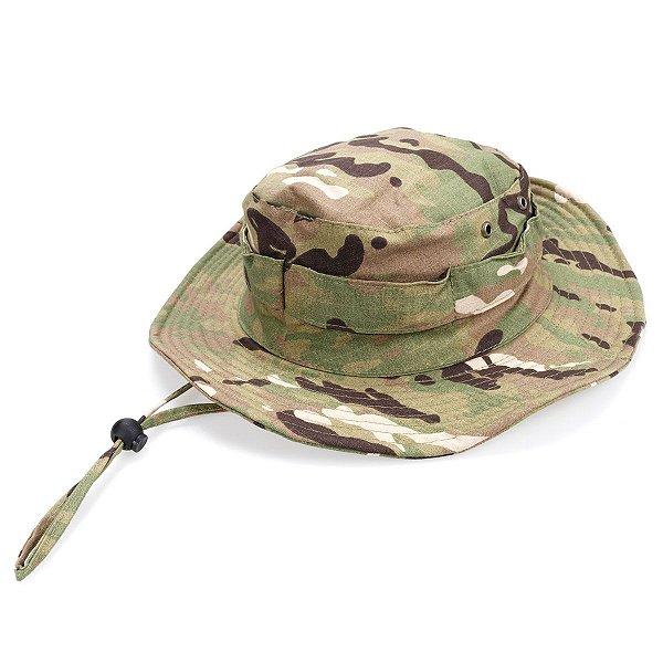 Chapéu Boonie Hat Camuflado Multicam