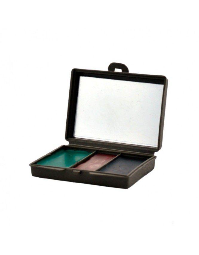 Kit Camuflagem com Espelho - Verde