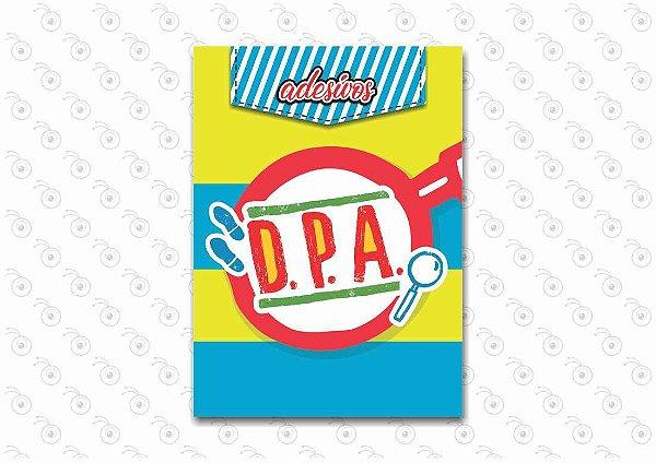 Livro com Adesivos - DPA - 13 x 18cm