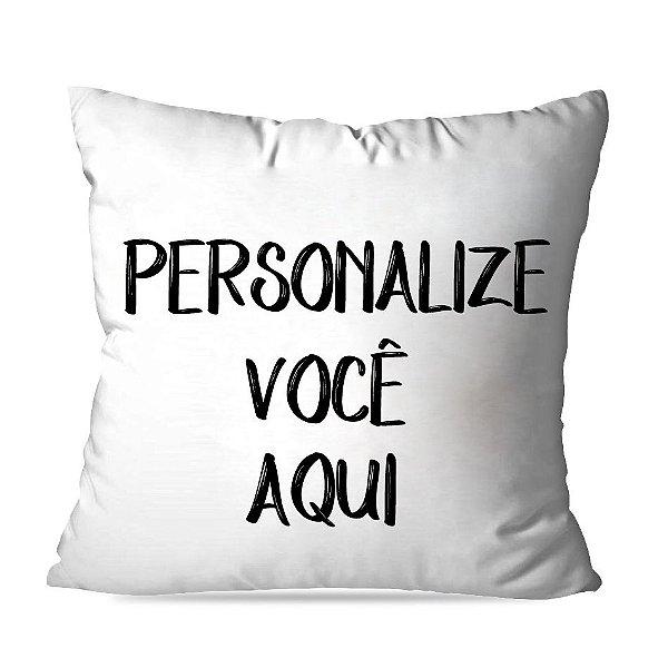 Almofadas personalize você