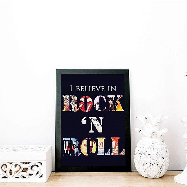 Quadro decorativo rock and roll