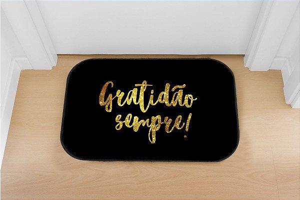 Tapete decorativo Gratidão