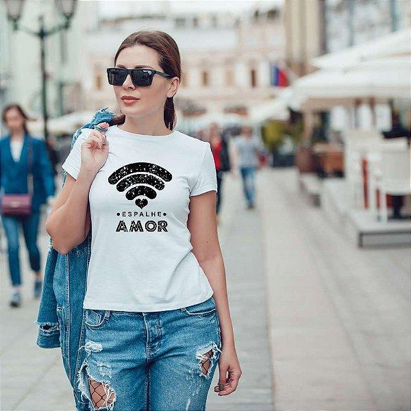 Camiseta T-shirt Feminina Amor