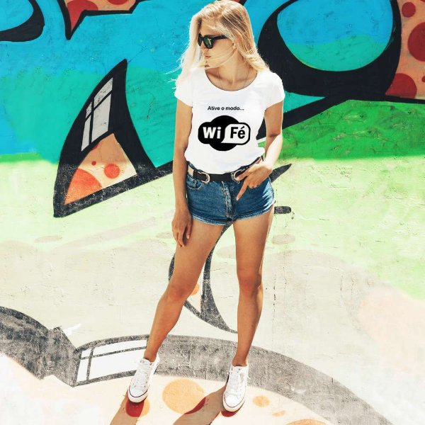 Camiseta T-shirt Feminina Wifé