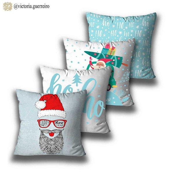 kit 4 almofadas Natal Noel