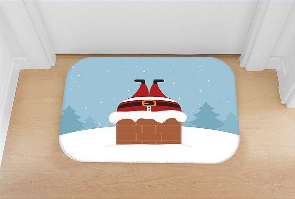 Tapete decorativo Chaminé de Natal