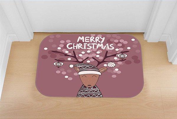 Tapete decorativo Rena Merry Christmas