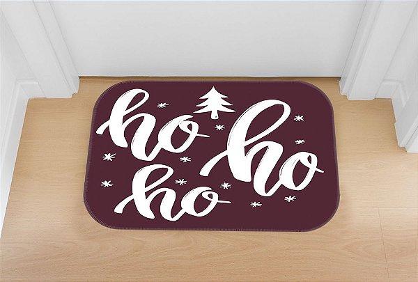 Tapete decorativo Natal Roxo